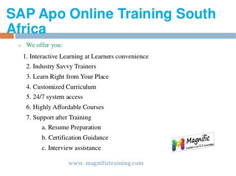 Sap Apo Online Training In Usa