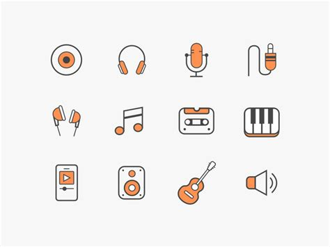office icons sketch freebie   resource