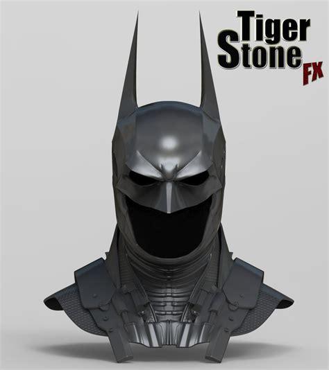 finished batman arkham knight cowl sculpt  tigerstonefx  deviantart