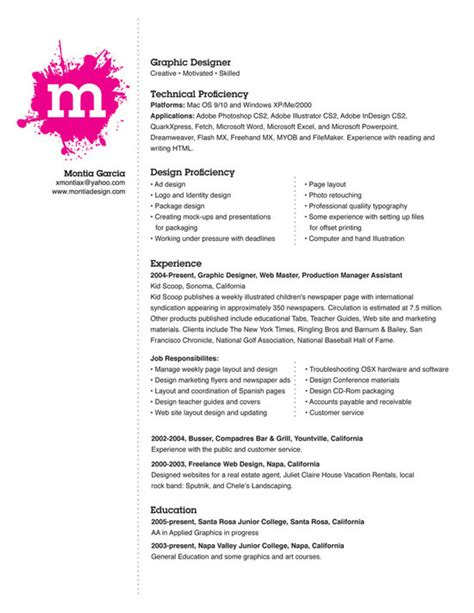 Unique Resumes Exles by 55 Exles Of Light And Clean Resume Designs