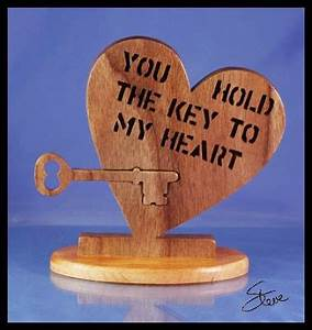 Key To My Heart : scrollsaw workshop you hold the key to my heart ~ Buech-reservation.com Haus und Dekorationen