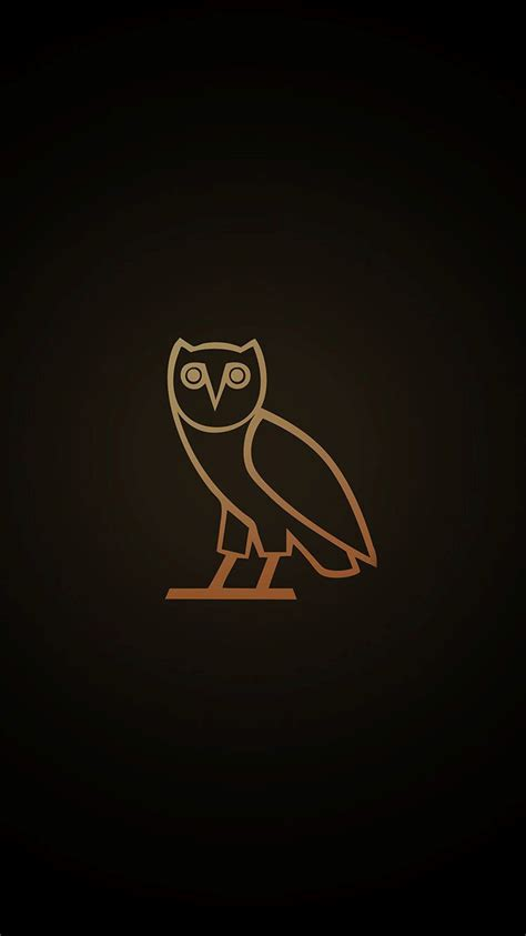 drake ovo owl dark iphone  wallpaper hd