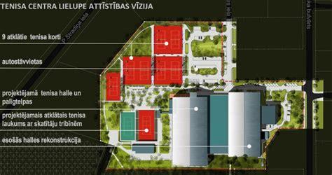 Sāksies deviņus miljonus vērtā tenisa centra