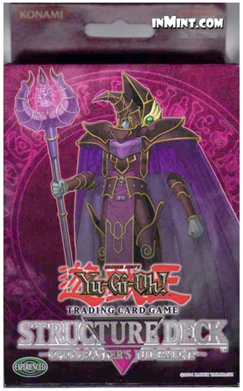 Spellcasters Judgement Structure Deck by Inmint Yugioh Spellcaster S Judgment Structure Deck