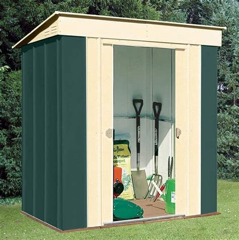 8 By 4 Shed by 8 X 4 Shed Baron Grandale Pent Metal Shed What Shed