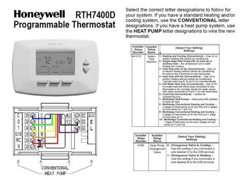 stage honeywell  thermostat wiring diagram wiring