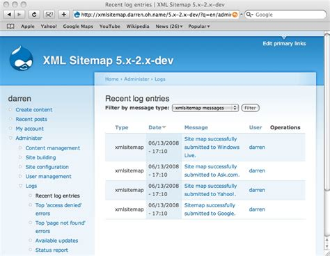 Submitting Your Site Map Search Engines Drupal