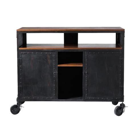 bar cuisine meuble meuble cuisine en metal table basse vanity metal bross 1