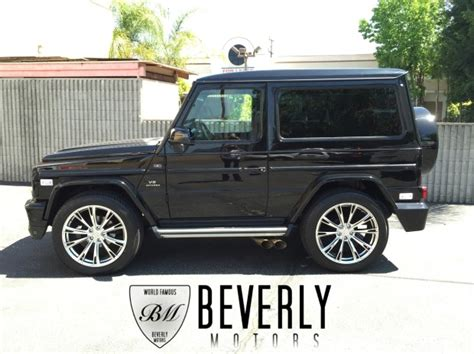 2 door g wagon 2001 mercedes g320 coupe brabus for