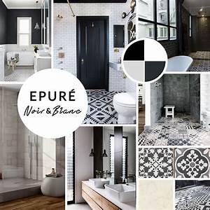 emejing decoration salle de bain noir et blanc gallery With salle de bain design noir et blanc