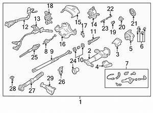 1998 Chevrolet Steering Shaft  Lower   Tilt  Wheel  Column