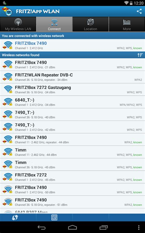 fritz app fritz app wlan lab android apps on play