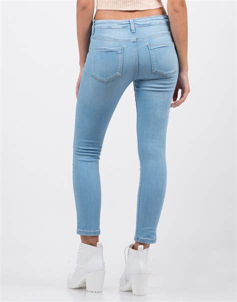 light blue jean shorts classic crop skinny jeans blue jeans light blue denim
