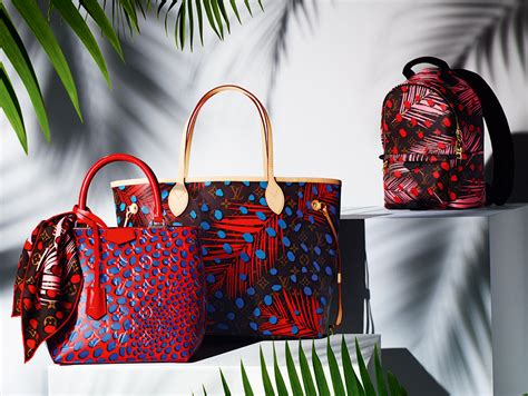 louis vuitton debuts summer  bag  accessory prints
