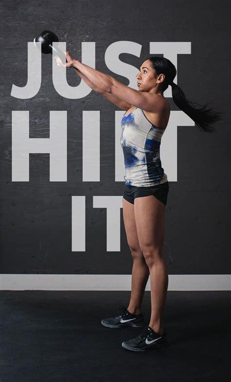 kettlebell hiit workouts swing exercises myvega workout