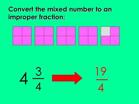 Mixed Numbers & Improper Fractions  Ppt Video Online Download