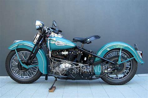 Harley-davidson El Knucklehead 1000cc Motorcycle