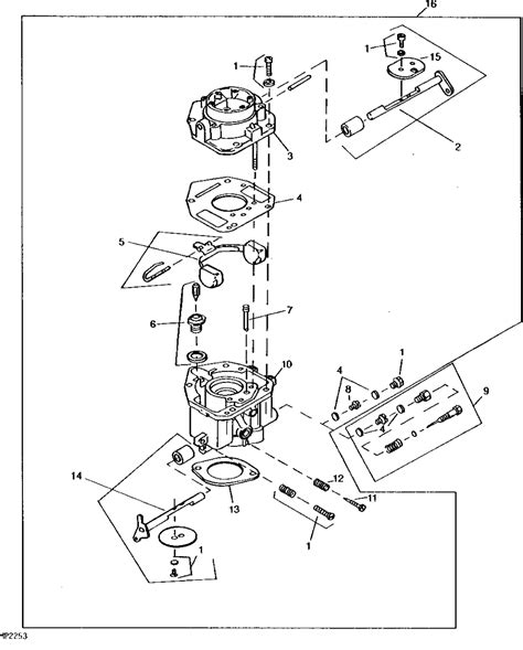 Onan Carb Diagram by I An Onan 18 Hp Engine Out Of A Deere And Lately Its