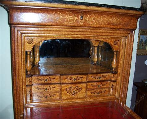 louis philippe secretaire in burr ash satinwood antiques atlas
