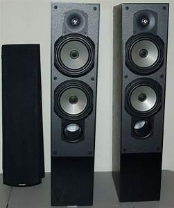 2 Home Theater Paradigm Front Tower Speakers Phantom V 3