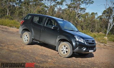 ls australia 2014 isuzu mu x ls m review performancedrive