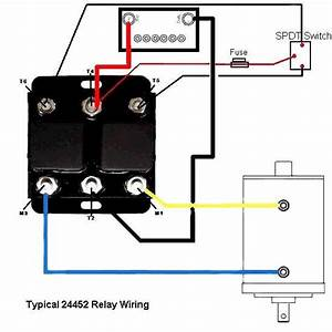 12 Volt Dc Reversing Solenoid Continuous Duty Relays 12