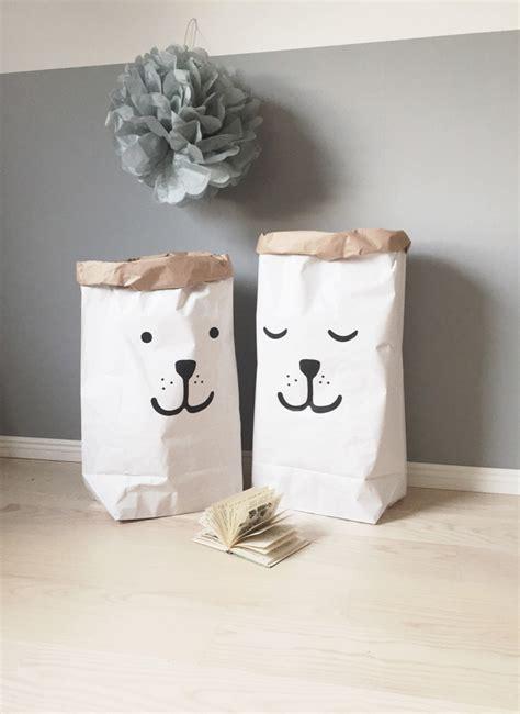 tellkiddo les sacs en papier qui donnent envie de ranger