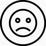 Sad Icon Mac Face Emoji Getdrawings Bw
