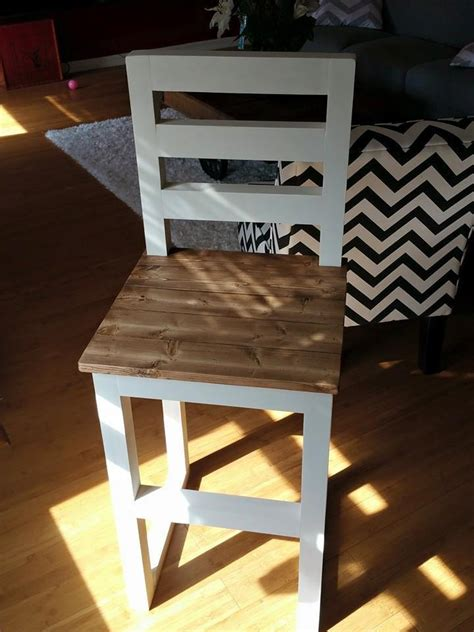 ana white counter height bar stools diy projects