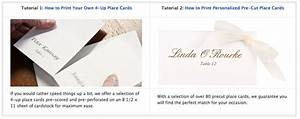 14 best images about home printing tips on pinterest With wedding place cards how to address