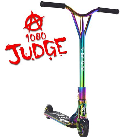 1080 Judge Stunt Scooter Alloy Custom Deck 110mm Wheels Ebay