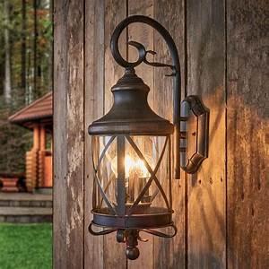 Rustic, Outdoor, Wall, Light, Romantica