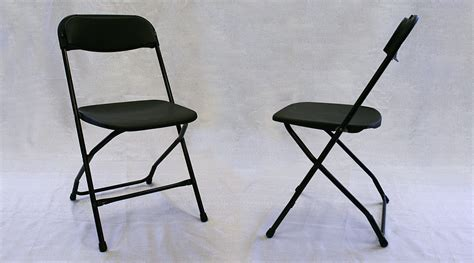 standard black folding chair rental iowa city cedar