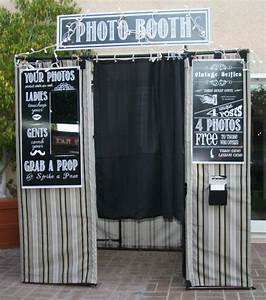 Fairly Detailed Instructions For A Photo Booth Made From