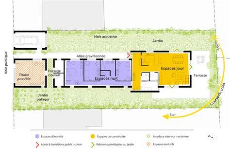 separation vitree cuisine salon plan maison en bois de plain pied ooreka