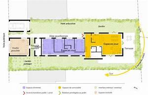Plan Maison En Longueur 3D