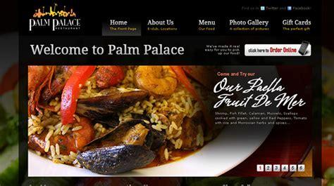 amazing food websites   design