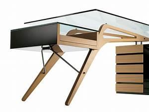 Schreibtisch Mit Schubladen : schreibtisch mit schubladen cavour by zanotta ~ Frokenaadalensverden.com Haus und Dekorationen
