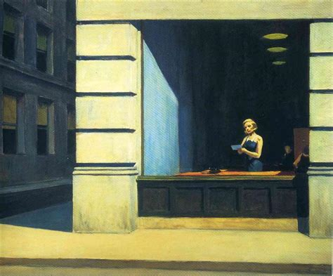 chambre à york edward hopper york office 1962 edward hopper wikiart org