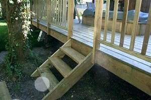 Construire Un Escalier Extérieur : litteraire fabriquer un escalier en bois construire un escalier en bois droit ~ Melissatoandfro.com Idées de Décoration