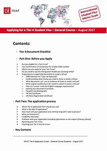 lse applying for the tier 4 student visa for general With tier 4 documents