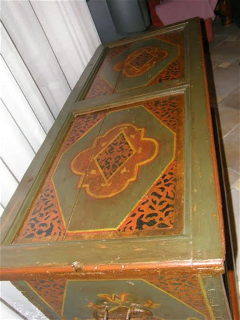 meuble polychrome alsacien bricobois decapage valff