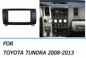 Car Stereo Radio Fascia Panel Trim Kit Frame For Toyota