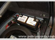 MercedesBenz W211 Battery Removal 20032009 E320, E500