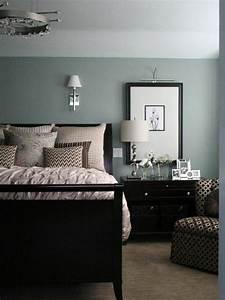 Wandfarbe Grau Grün : nice looking farbgestaltung schlafzimmer coole deko ideen ~ Michelbontemps.com Haus und Dekorationen