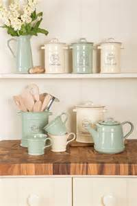 brown canister sets kitchen vintage enamelware with a twist kitchen sourcebook