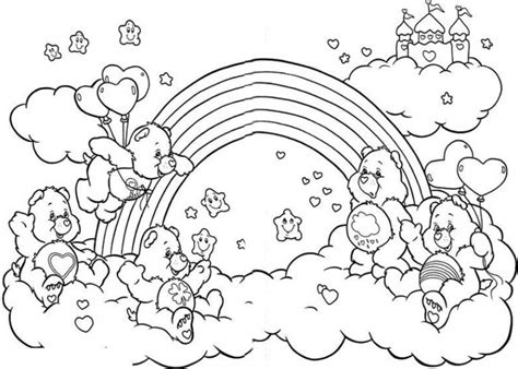 rainbow coloring pages bestofcoloringcom
