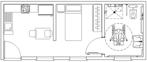 Appartamenti Per Anziani Autosufficienti by Residenze Speciali Alloggi Per Anziani Dwg