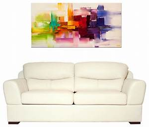 Modern abstract paintings modern living room miami for Modern paintings for living room