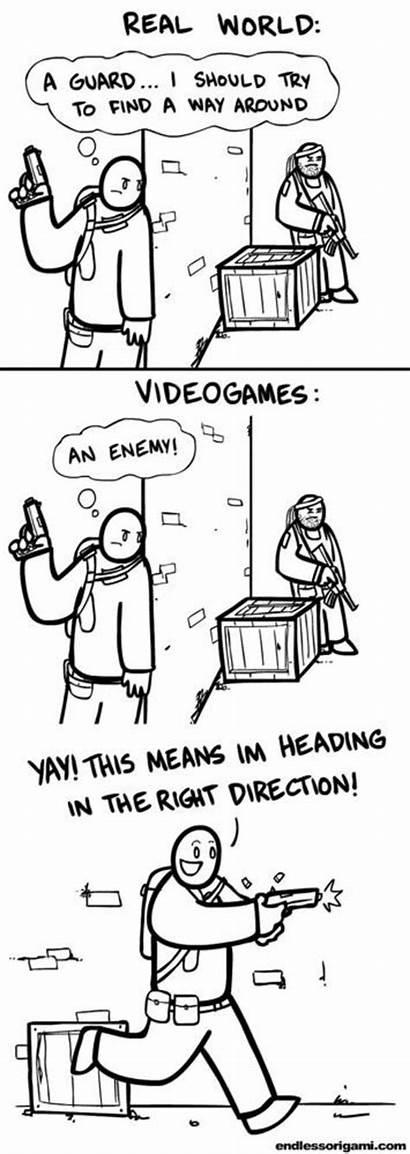 Logic Funny Games Gamer Memes Gaming Humor